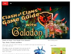 Clash of Clans Guide Web Site
