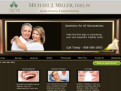 Dental website - Michael J. Miller
