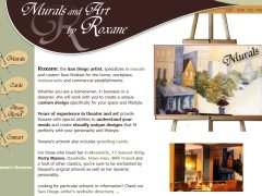 Murals and Art by Roxane