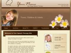 San Diego Speech Therapist Site